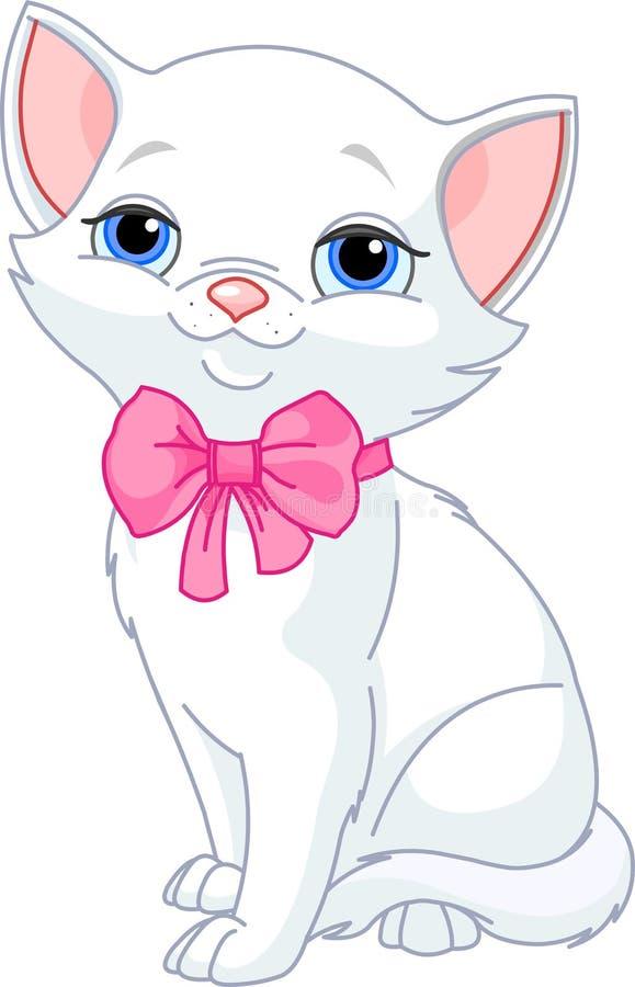 белизна кота милая очень