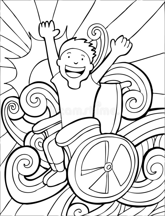 белизна кресло-коляскы авантюриста черная бесплатная иллюстрация