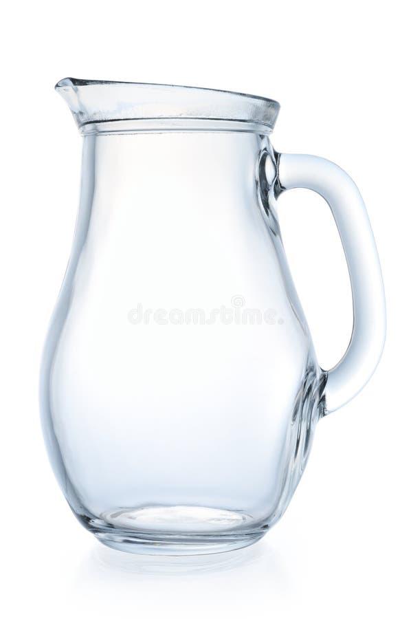 белизна кувшина предпосылки стеклянная стоковая фотография