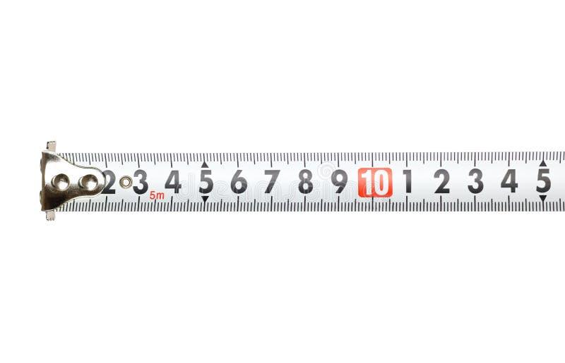 белизна ленты предпосылки измеряя closeup иллюстрация вектора