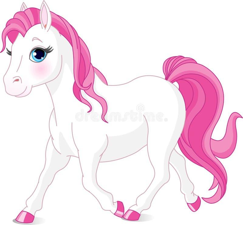 белизна лошади иллюстрация штока