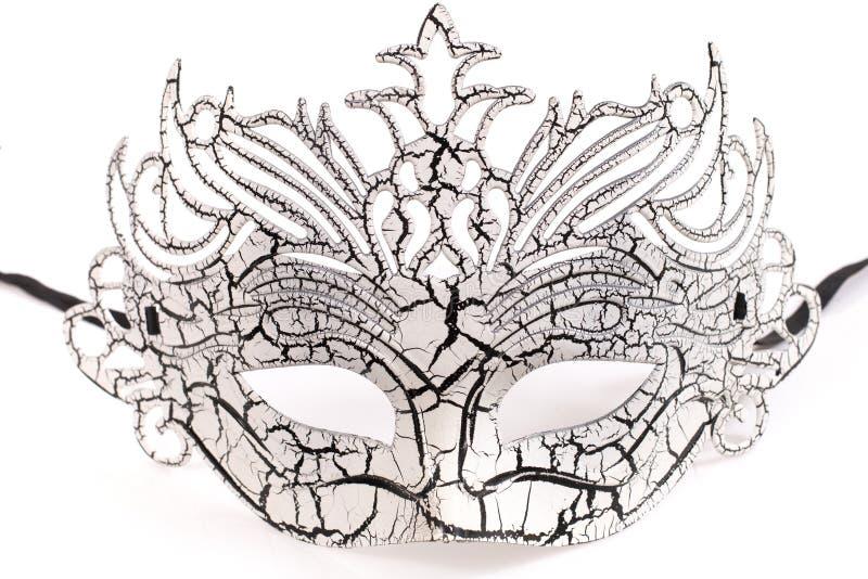 белизна маски venetian стоковые изображения rf