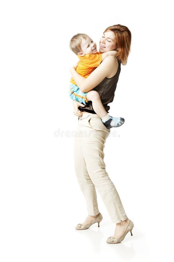 белизна мати ребенка предпосылки стоковые фотографии rf