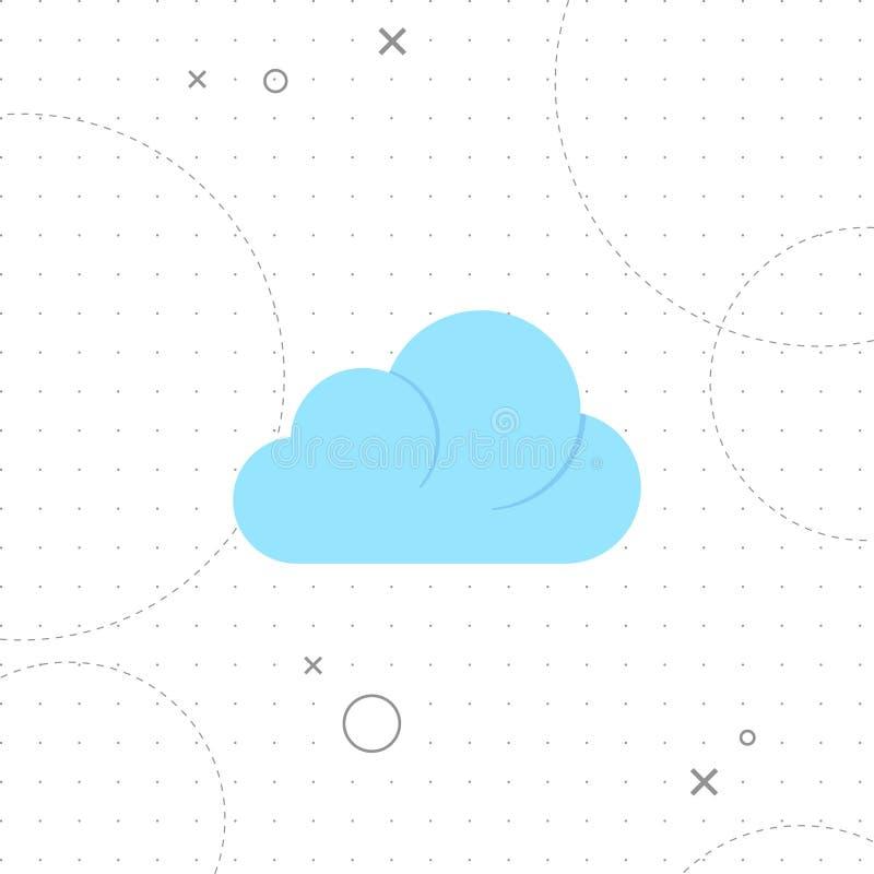 белизна модели иконы облака 3d бесплатная иллюстрация