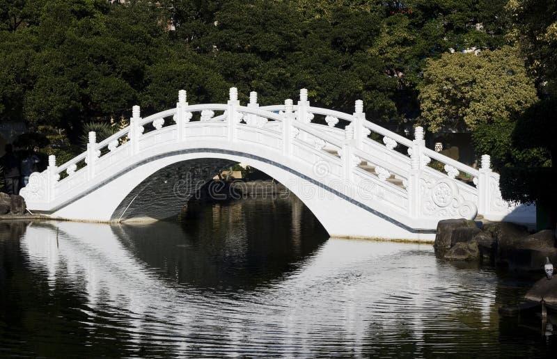 белизна моста китайская стоковые изображения