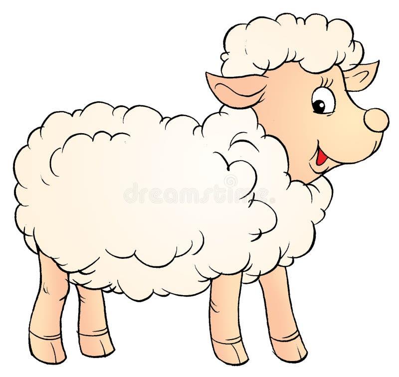 белизна овечки бесплатная иллюстрация