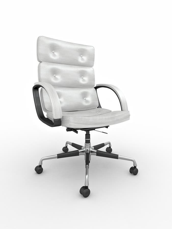 белизна офиса кресла isolared предпосылкой бесплатная иллюстрация