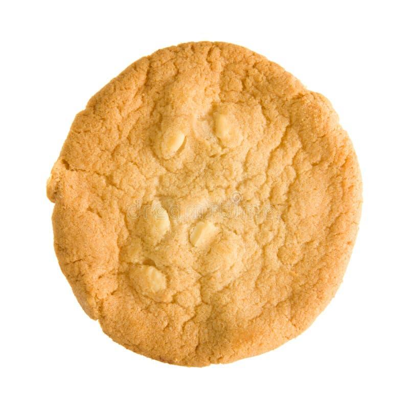 белизна печенья шоколада обломока стоковая фотография rf