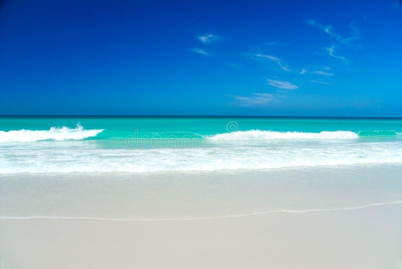 белизна пляжа совершенная стоковые фотографии rf