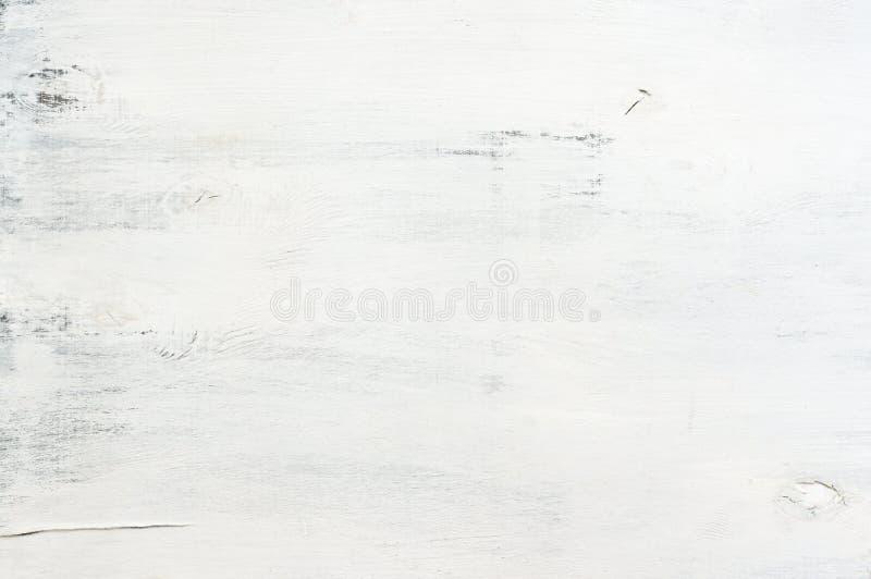 Белизна покрасила деревянную текстуру стоковые фото