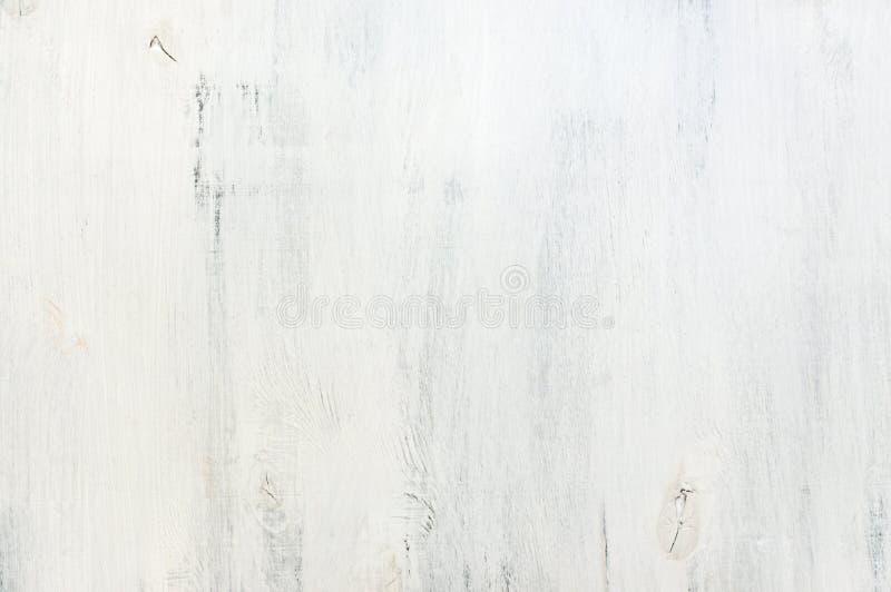 Белизна покрасила деревянную текстуру стоковые фотографии rf