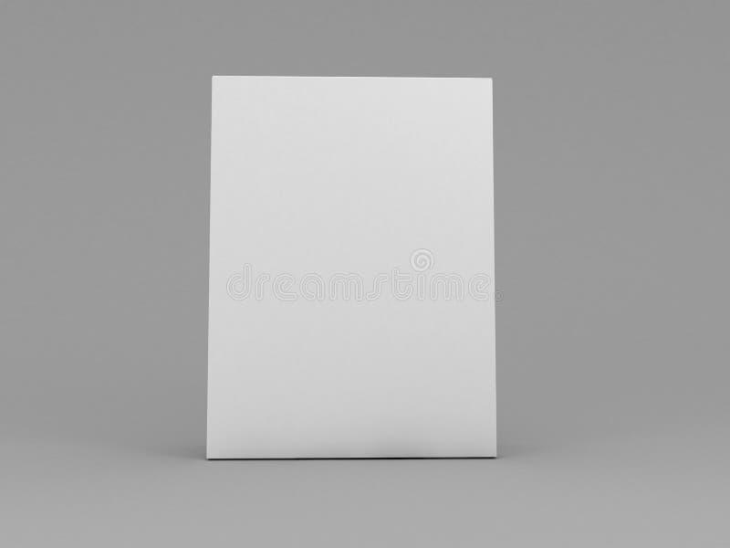 белизна ПО коробки иллюстрация штока