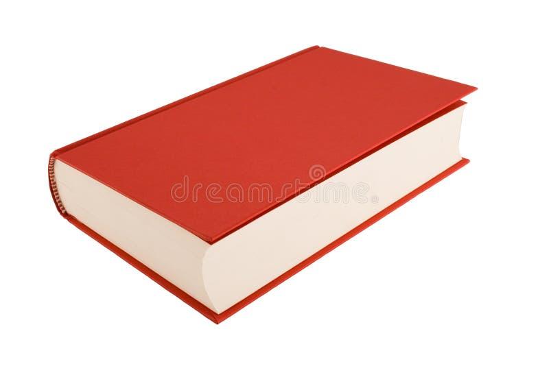 белизна предпосылки изолированная книгой красная стоковая фотография rf