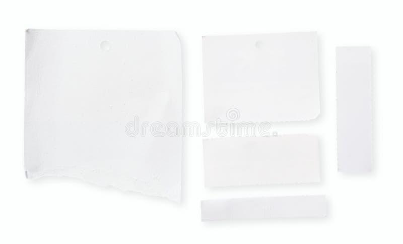белизна пустой бумаги стоковое фото