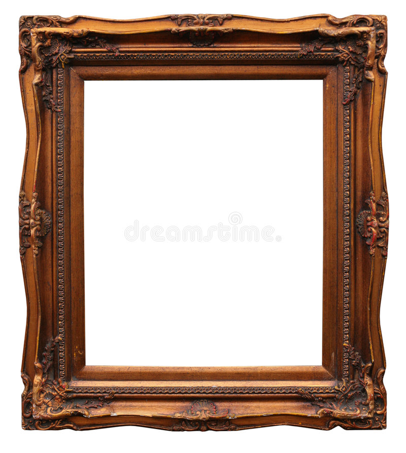 белизна рамки багета стоковое изображение rf