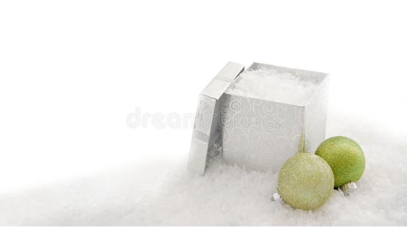 белизна рождества предпосылки стоковая фотография rf