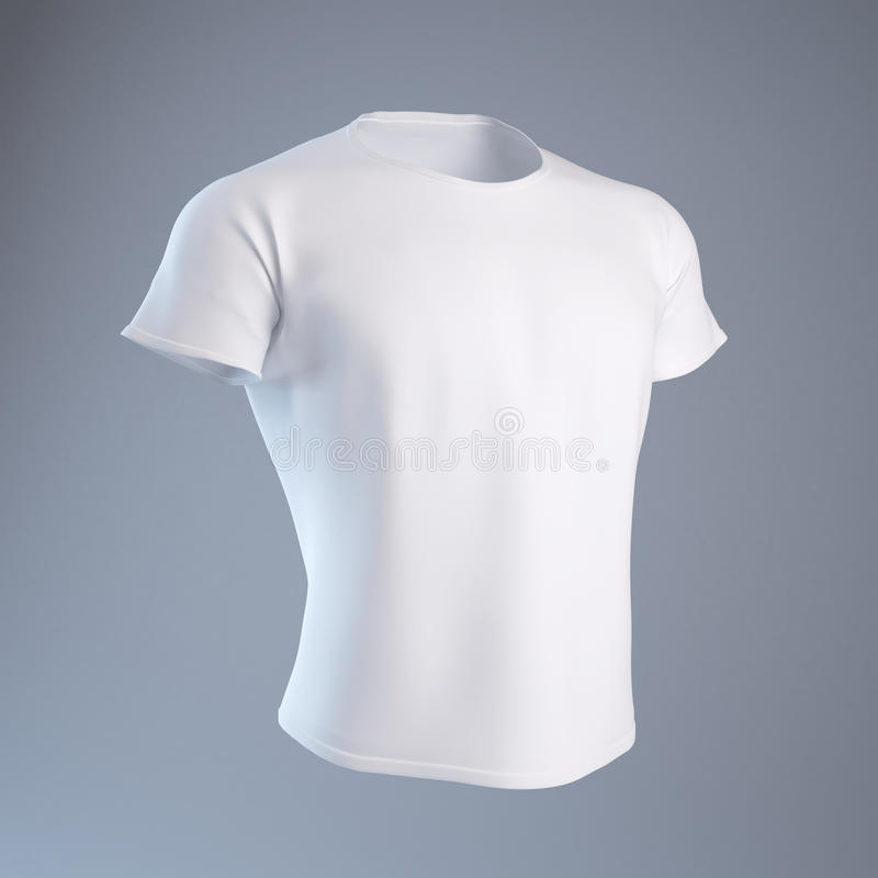 белизна рубашки t людей s иллюстрация штока