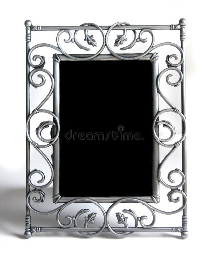 белизна серебра фото рамки стоковые изображения