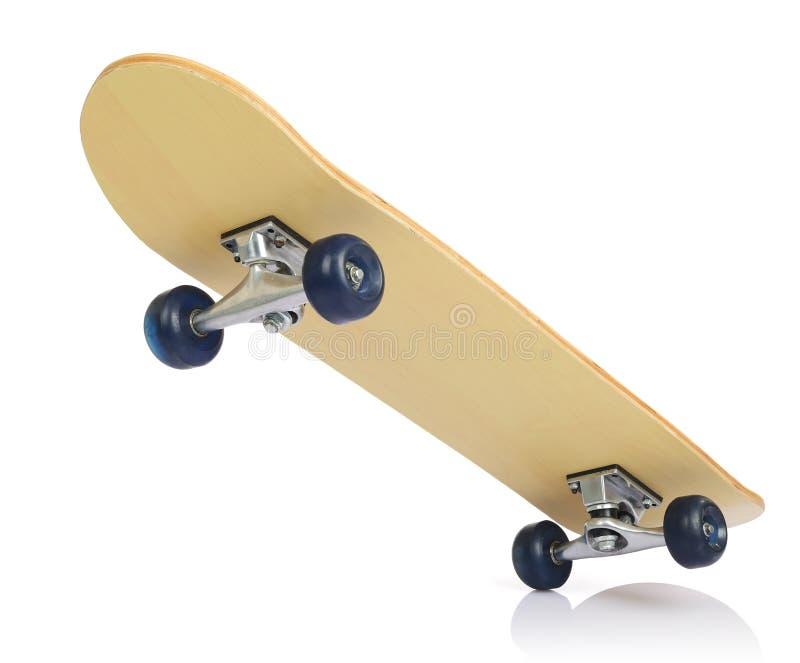 белизна скейтборда палубы стоковые фотографии rf