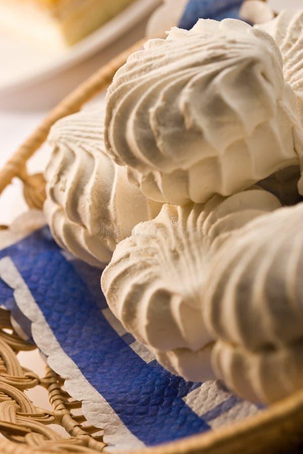 белизна снежка болотоа просвирняка стоковая фотография