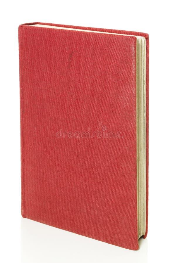 белизна старого путя книги изолированная клиппированием красная стоковое изображение