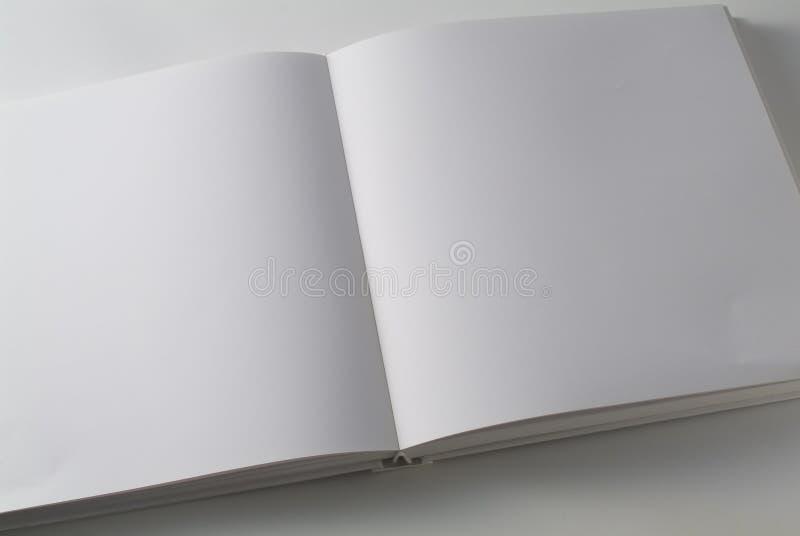 белизна страницы книги двойная стоковые фотографии rf