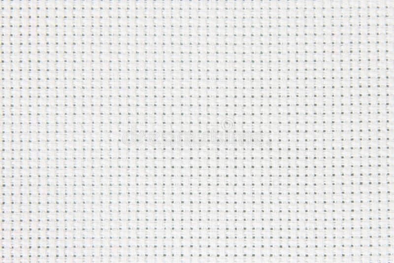 белизна текстуры хлопка холстины предпосылки стоковое изображение rf