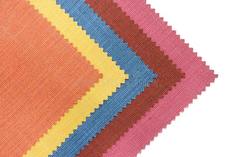 белизна тона образца ткани multicolor стоковые фотографии rf