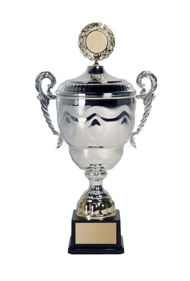 белизна трофея стоковое изображение
