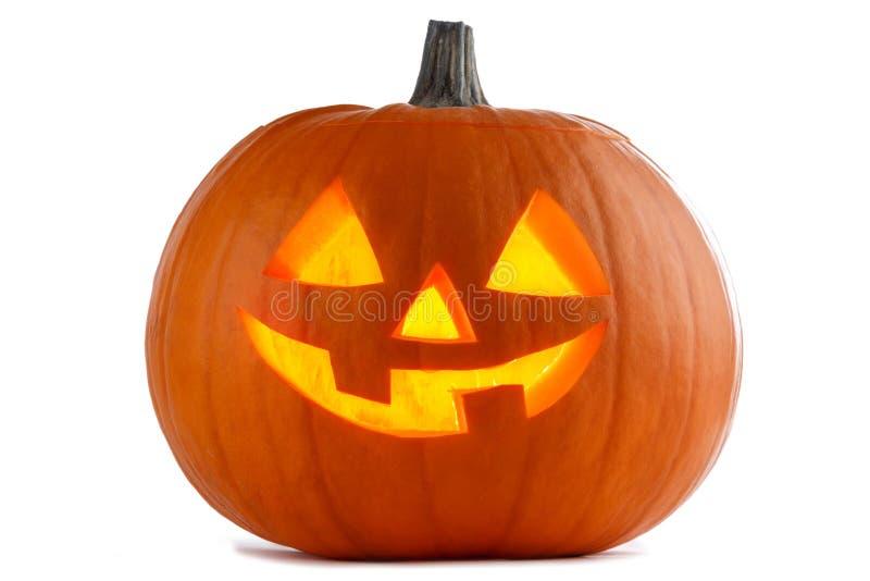 белизна тыквы halloween стоковая фотография