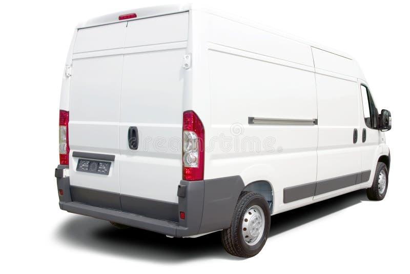 белизна фургона стоковое изображение