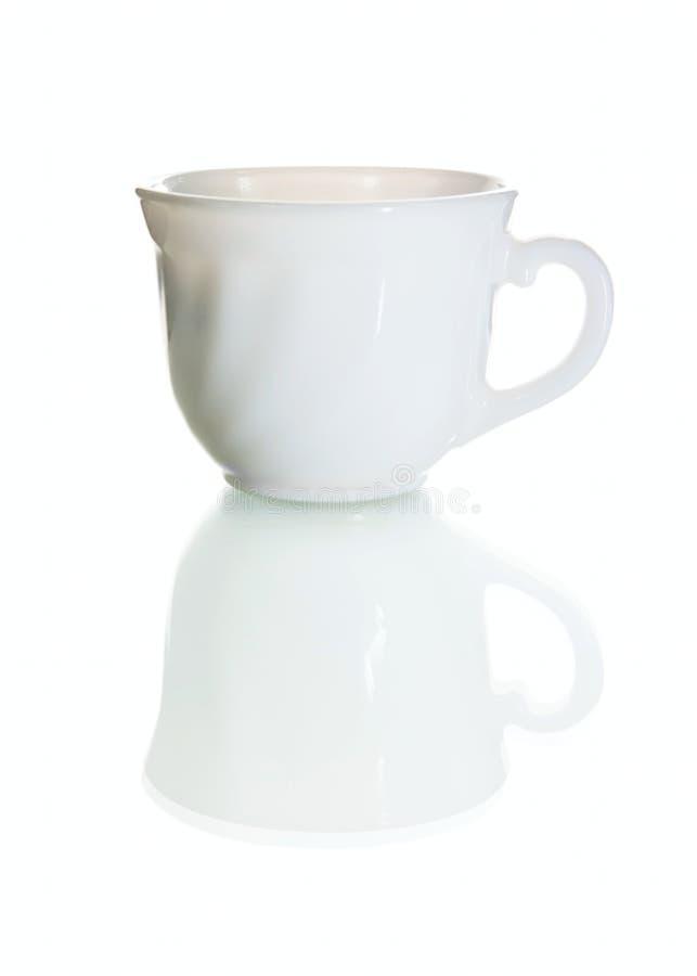 белизна чашки стоковые изображения rf