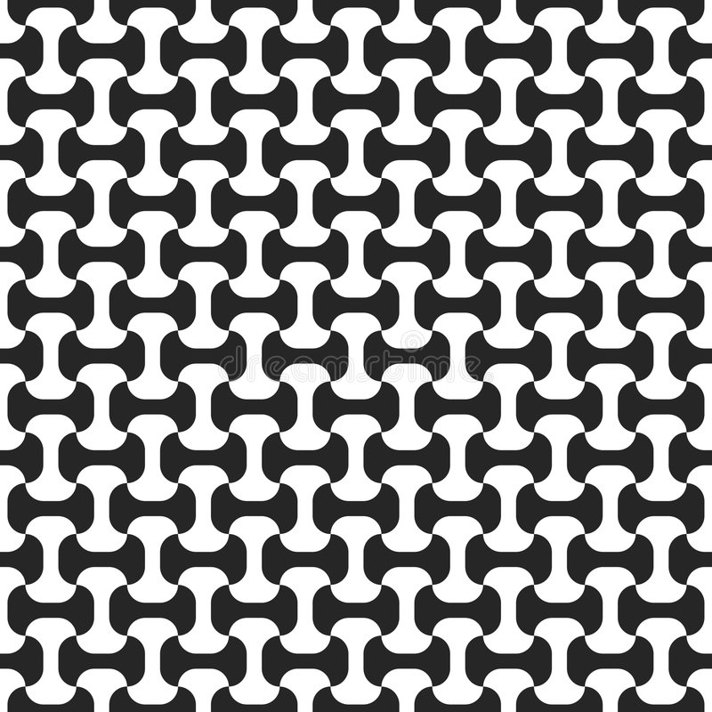 белизна черной картины безшовная иллюстрация вектора