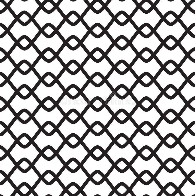 белизна черной картины безшовная стоковое изображение rf