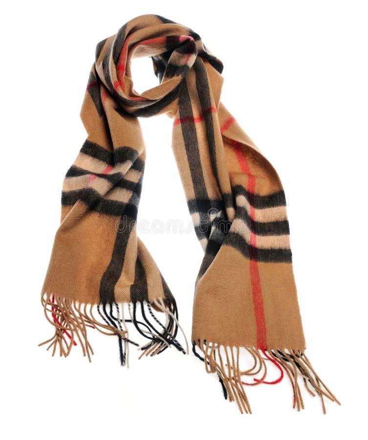 белизна шарфа предпосылки стоковое фото rf