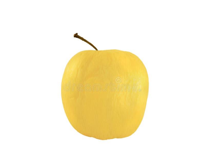 Download белизна яблока золотистая изолированная Стоковое Фото - изображение насчитывающей бело, одиночно: 6862792