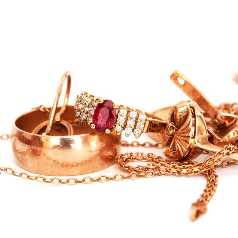 белизна jewellery предпосылки стоковое фото