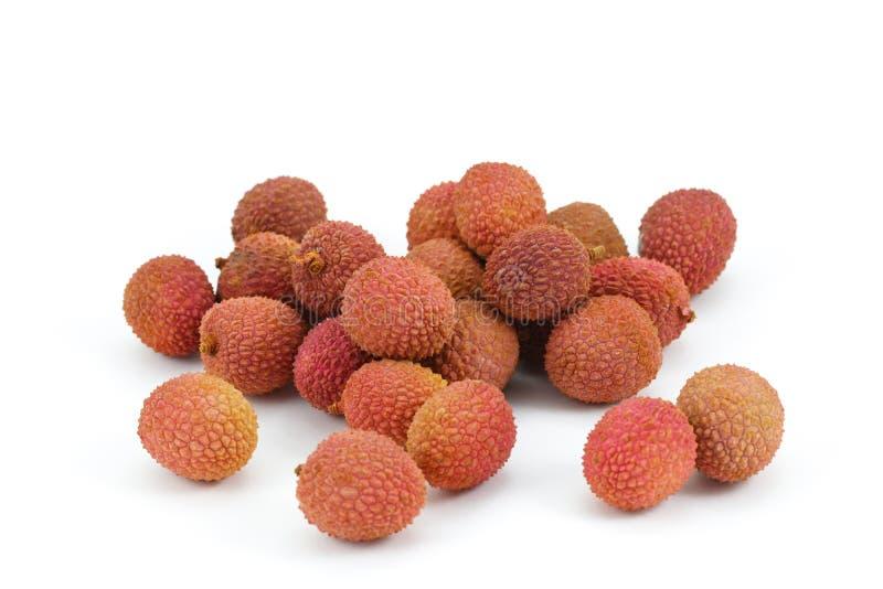 белизна lychee плодоовощ предпосылки стоковые изображения