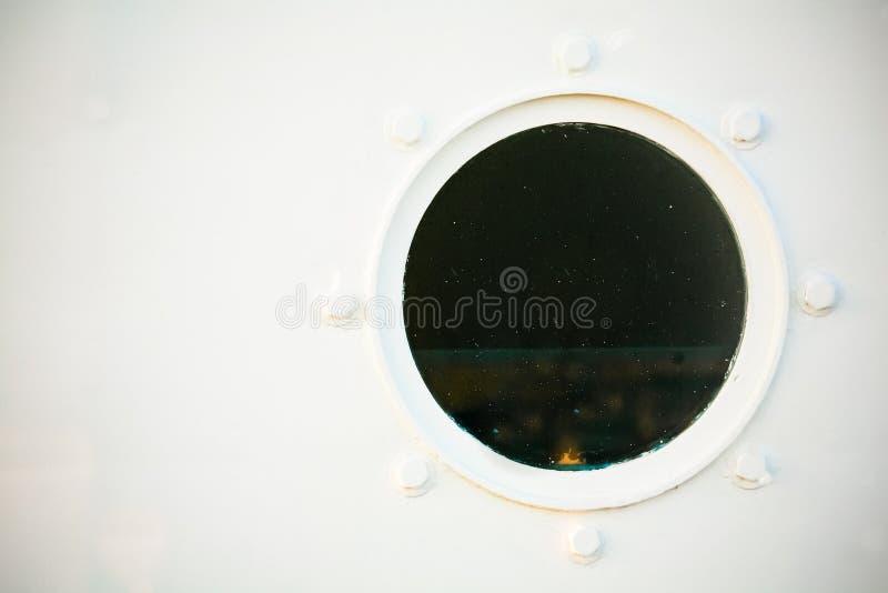 белизна porthole стоковое изображение