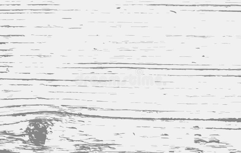 Белое деревянное вырезывание, прерывая доска, таблица или поверхность пола Деревянная текстура бесплатная иллюстрация