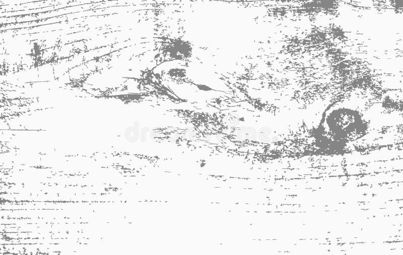 Белое деревянное вырезывание, прерывая доска, таблица или поверхность пола Деревянная текстура иллюстрация штока