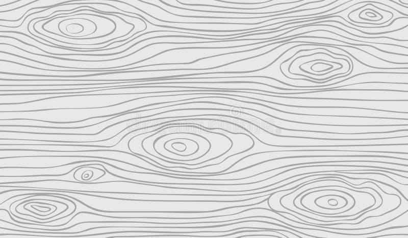 Белое деревянное вырезывание, прерывая доска, таблица или поверхность пола Деревянная текстура r иллюстрация штока