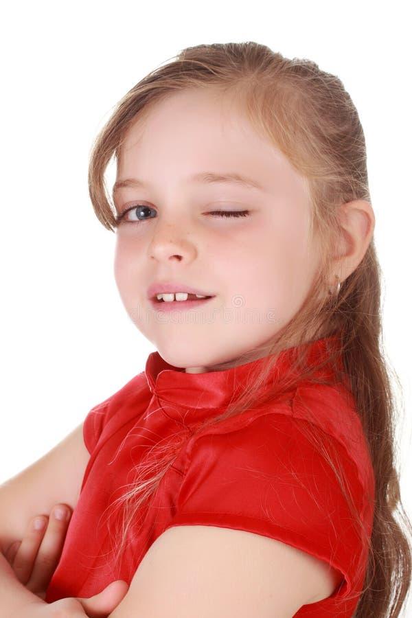 белокурая милая девушка немногая стоковые фото