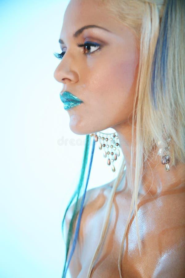 белокурая сексуальная женщина стоковые изображения