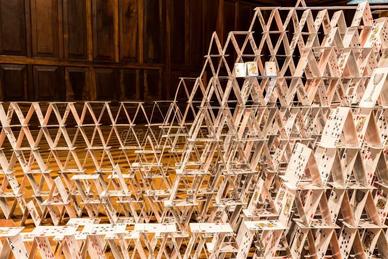 БЕЛУ-ОРИЗОНТИ, БРАЗИЛИЯ - 12, ОКТЯБРЬ 2017: Instalation i искусства стоковое фото rf