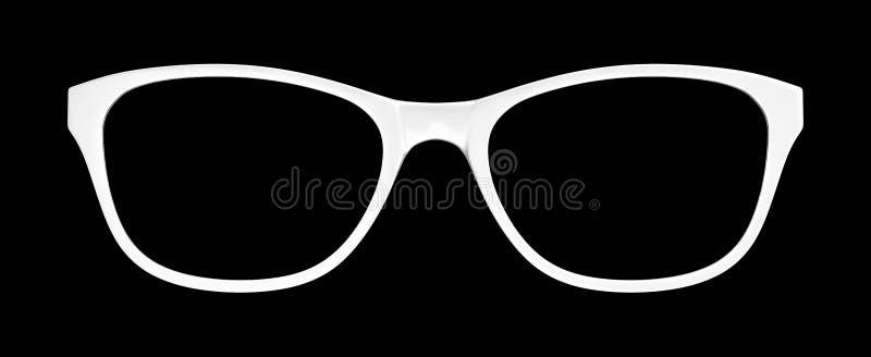 белые стекла на черной предпосылке бесплатная иллюстрация