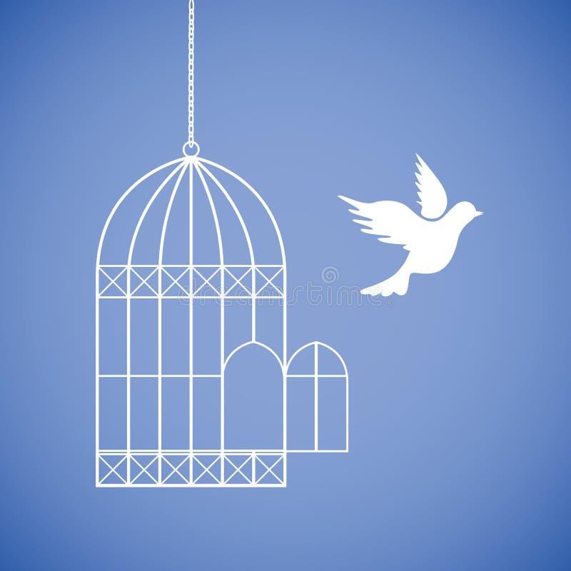 Картинки голубь в клетке