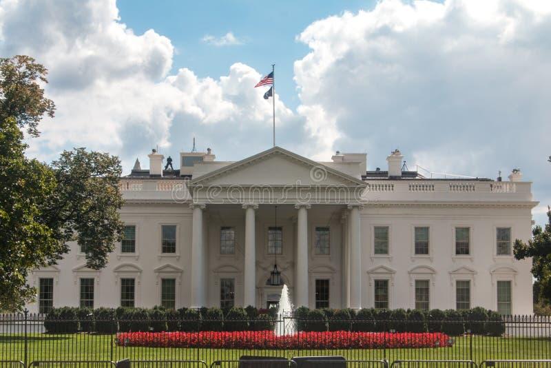 Белый Дом, в DC Вашингтона стоковое изображение rf
