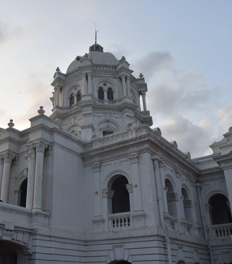 белый индийский крупный план дворца стоковая фотография
