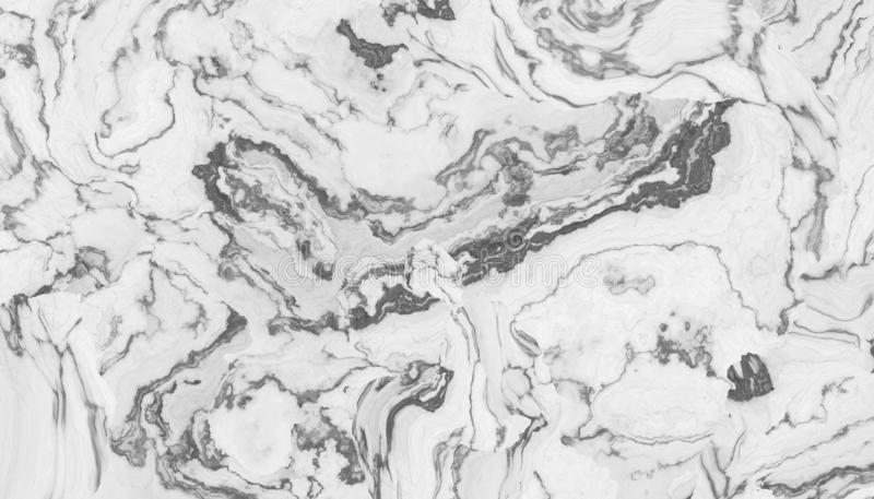 Белый курчавый мрамор иллюстрация штока